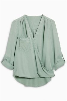 Tencel® Wrap Top
