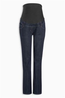 Maternity Boot Cut Jean Over The Bump
