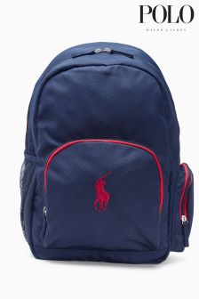 Ralph Lauren Navy Campus Backpack