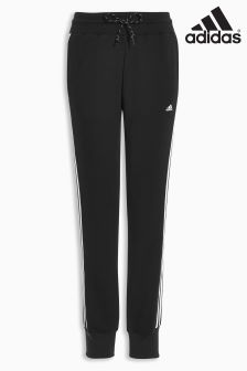 adidas Black 3 Stripe Essential Pant