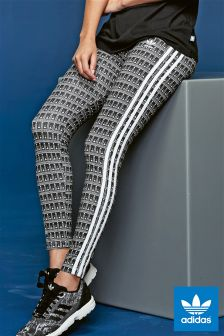 adidas Originals Black Printed Legging