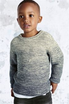 Ombre Crew Neck Jumper (3mths-6yrs)