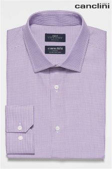 Signature Canclini Puppytooth Shirt