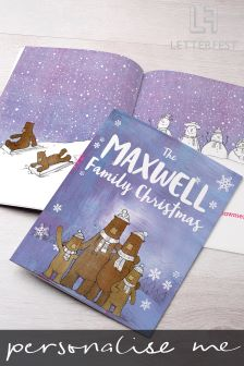 Personalised Family Christmas Story Book By Letterfest