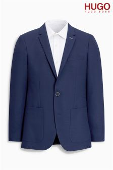 Hugo By Hugo Boss Navy Hamilton Blazer