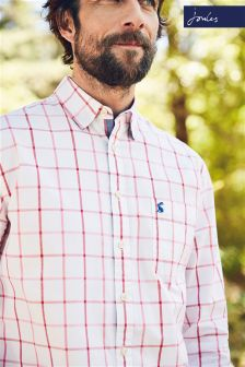 Joules Tartan Welford Classic Fit Shirt