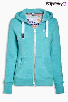 Superdry Sea Breeze Orange Label Primary Zip Hoody