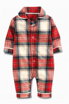 Tartan Pyjamas (0mths-2yrs)