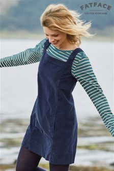Fat Face Navy Breton Marl Stripe Top