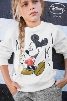Mickey Mouse™ Crew Neck Top (3-16yrs)