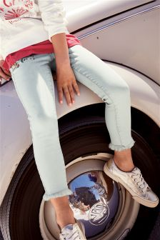 Embroidered Skinny Jeans (3-16yrs)