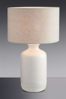 Ripple Ceramic Table Lamp