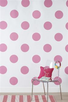 Paste The Wall Large Spot Wallpaper