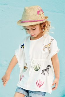 Embroidered Kaftan (3mths-6yrs)