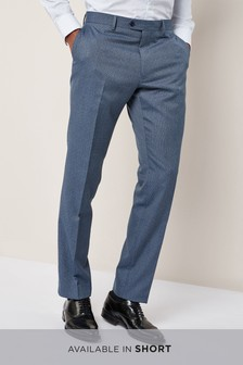Textured Suit: Trousers