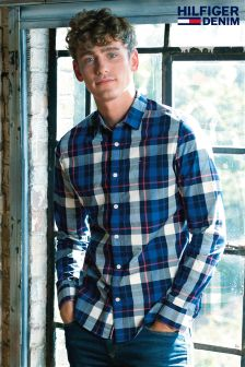 Hilfiger Denim Multi Check Shirt