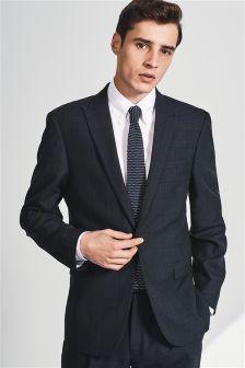 Windowpane Check Slim Fit Suit