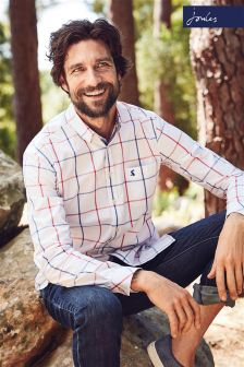 Joules Overcheck Welford Classic Fit Shirt