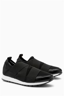 Slip-On Elastic Trainers