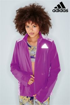 adidas Performance Purple Zip Jacket