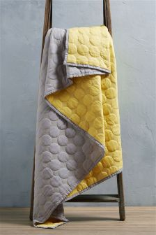 Quilted Circles Throw