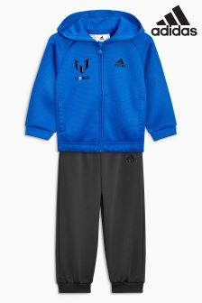 adidas Infant Blue Messi Tracksuit