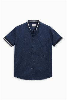 Short Sleeve Nep Baseball Shirt (3-16yrs)