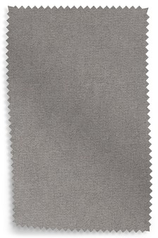 Soft Plain Mid French Grey Upholstery Fabric Sample