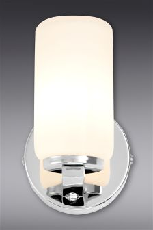 Moderna Chrome Bathroom Wall Light