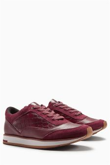 Premium Leather Trainers