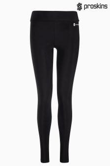 Black Proskins Gym Slim Full Length Legging