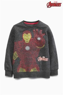 Iron Man Sweat Top (3-16yrs)