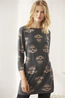 Slash Neck Dress