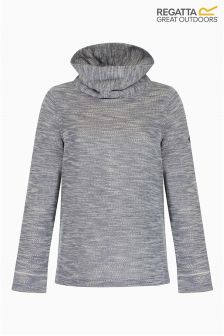 Regatta Grey Marl Cowl Neck Fleece