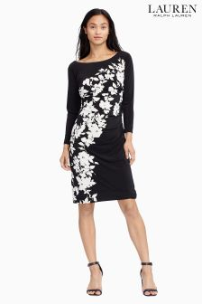 Lauren Black/Cream Glenna Dress