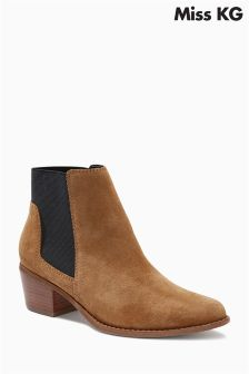 Miss KG Spider Suede Chelsea Boot