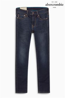 Abercrombie & Fitch Dark Wash Super Skinny Jean