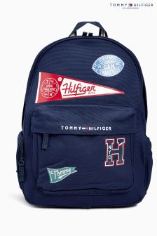 Tommy Hilfiger Navy Badge Back Pack