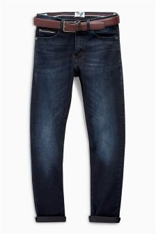 Belted Skinny Jeans (3-16yrs)
