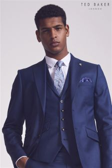 Ted Baker Blue CanbooW Suit Waistcoat