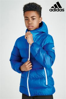 adidas Padded Blue Jacket