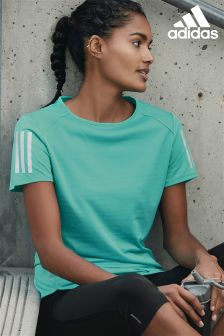 adidas Teal Running T-Shirt