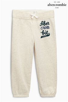 Abercrombie & Fitch Oatmeal Core Jogger