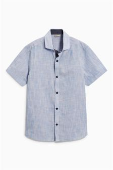 Short Sleeve Smart Shirt (3-16yrs)