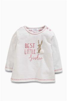 Sister T-Shirt (0mths-2yrs)