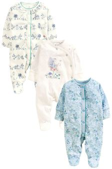 Fairy Sleepsuits 3 Pack (0mths-2yrs)