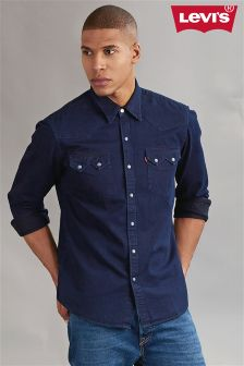 Levi's® Indigo Rinse Sawtooth Western Denim Shirt