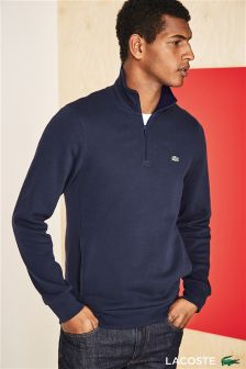 Lacoste® Navy 1/4 Zip Sweat