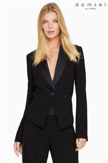 Damsel In A Dress Black Tux Jacket