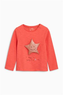 3D Star T-Shirt (3mths-6yrs)